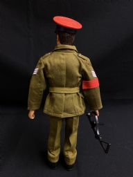 ACTION MAN - BRITISH MILITARY POLICE MP - COMPLETE  NICE CONDITION